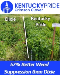 Kentucky Pride – Weed Suppression