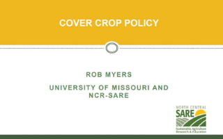 cover crop policy